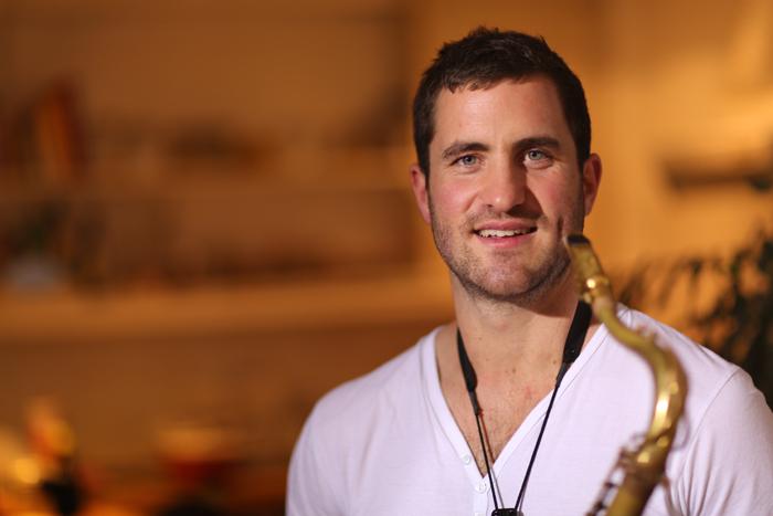 Saxophonspieler Hamburg